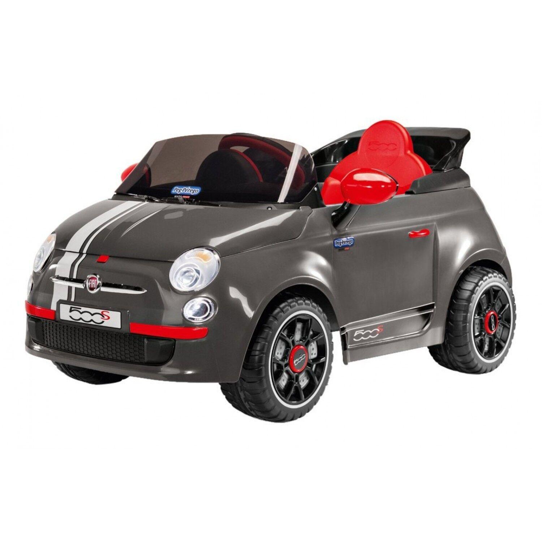 Peg Perego - Voiture Fiat 500s Grise 6v