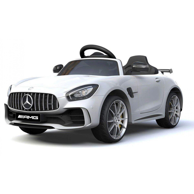 Biker Toys Voiture électrique Biker Toys Mercedes AMG GT-R Blanc