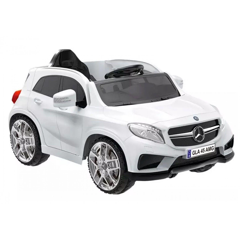 Biker Toys Voiture électrique Biker Toys Mercedes GLA 45 Blanc