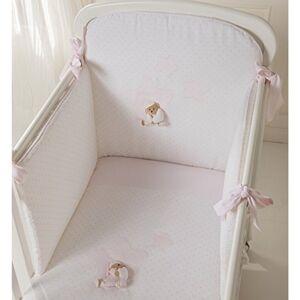 Nanan Parure de lit Amovible Nanan Puccio Star Rose 4pcs - Publicité