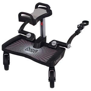 Lascal Planche à roulettes poussette Buggy Board Maxi Plus siège Gris - Publicité