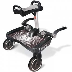Lascal Plate-forme Maxi Universal Black Lascal Buggyboard pour poussette avec siège gri - Publicité