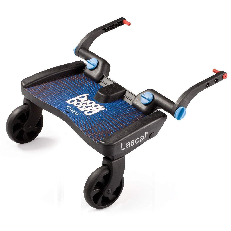 Lascal Buggyboard Maxi Planche à Roulettes Large Noir / Bleu