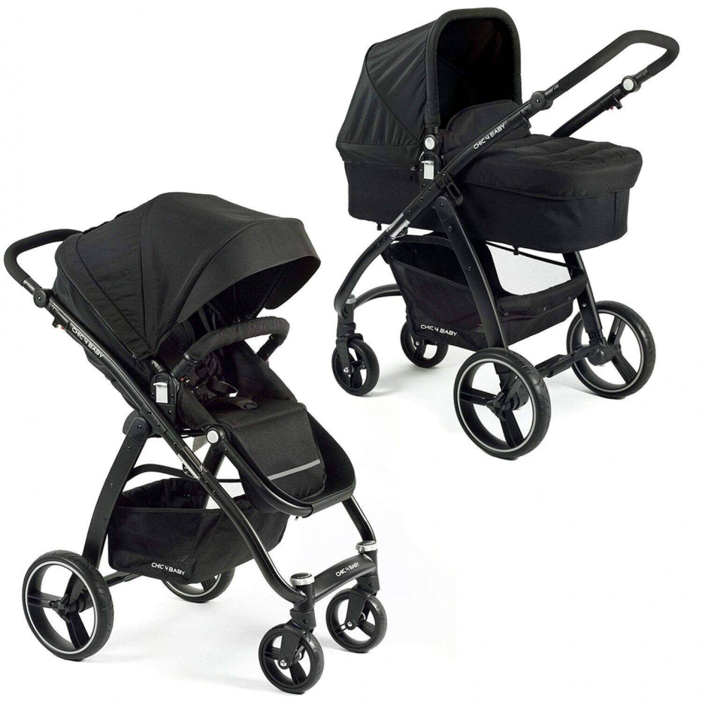 Chic 4 Baby Chic 4baby–poussette Combinée Volare Avec Poussette Sport Et Bébé Coffre