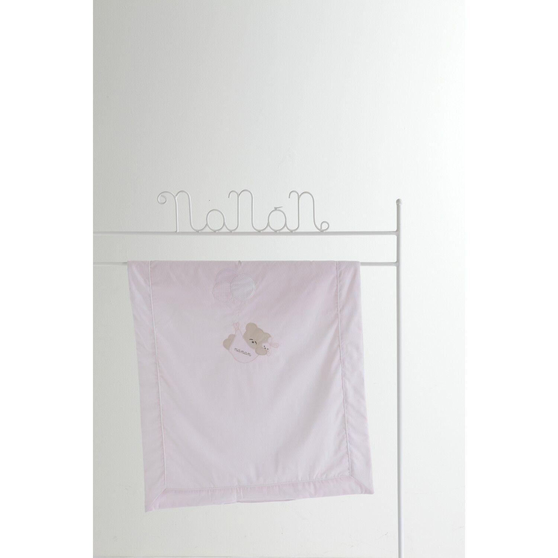 Nanan Couverture pour lit bébé Nanan Pink Balloon