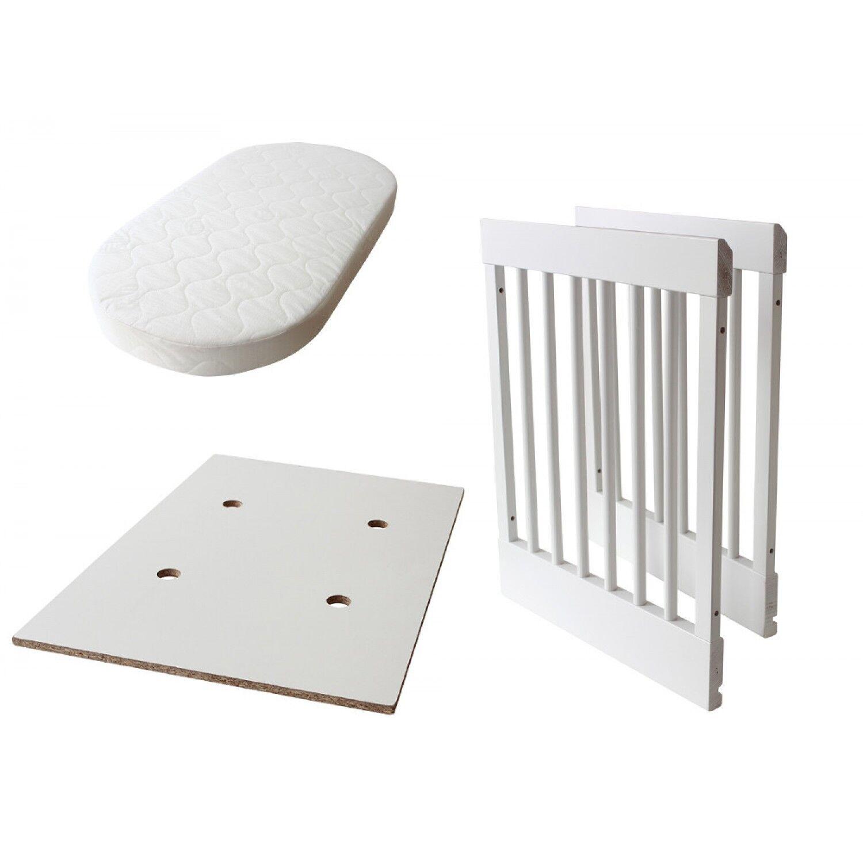 Pali Kit de transformation pour Pali Lab 03 et Lab 09 Cradle in White Bed