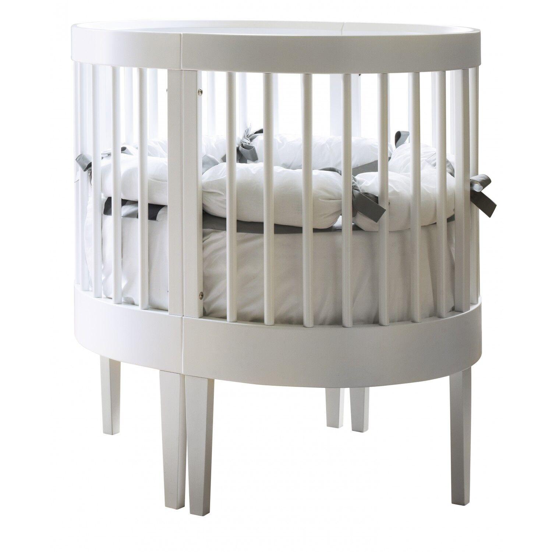 Pali Lit bébé transformable Pali Lab 03 blanc avec matelas