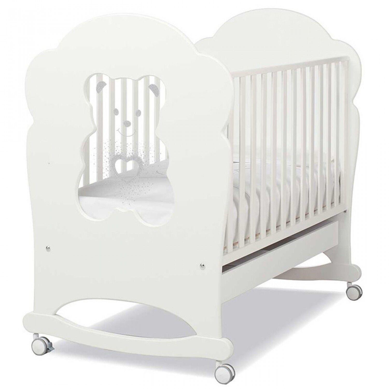 Erbesi Lit bébé Erbesi Tiffany White