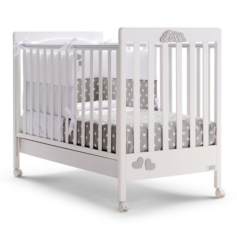 Baby Fashion Lit d'amour mode bébé blanc gris