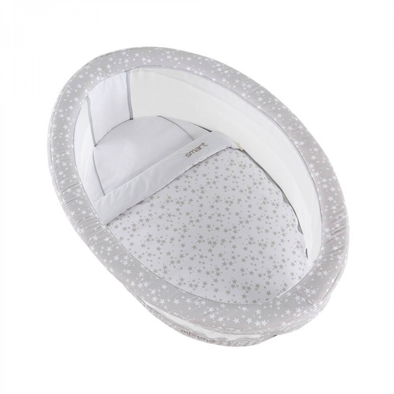 Micuna Lit Micuna Smart Luce White + housse Smart Fresh Stelle