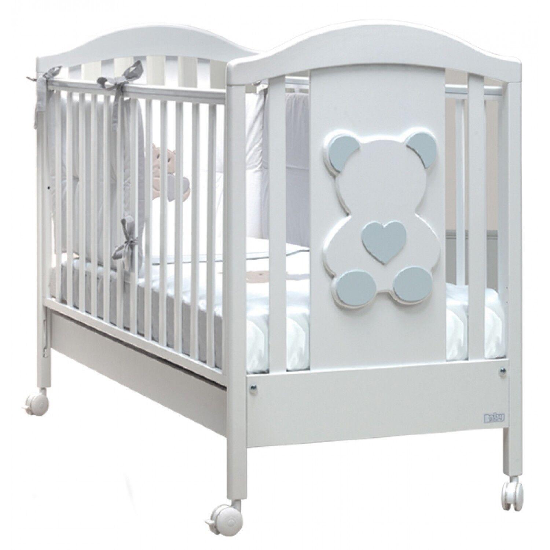 Baby Fashion Lit d'ours blanc mode bébé