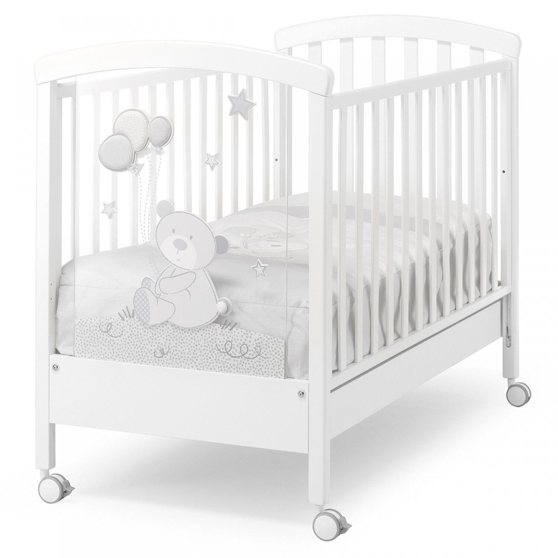Erbesi Lit bébé Erbesi Toby Blanc