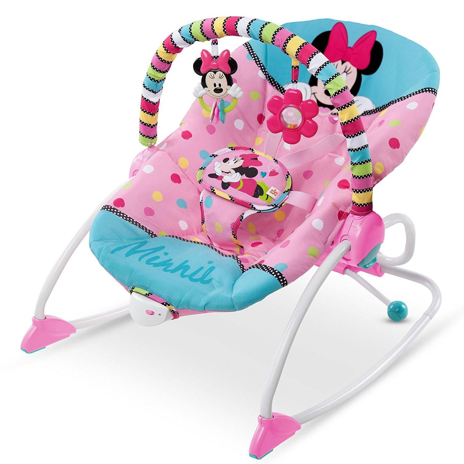 Bright Starts Disney Baby Evolutif Rose Minnie Transat