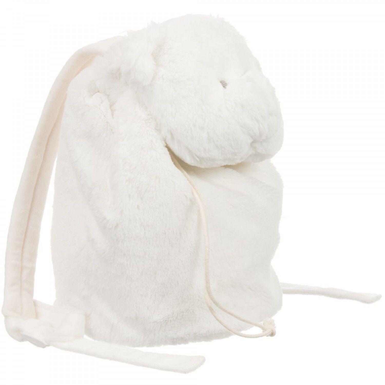Nanan Sac à dos en fourrure pour bébé Nanan Batuffolo avec ours en peluche