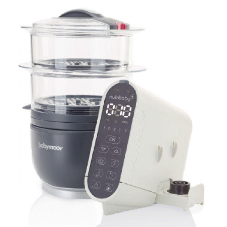 Babymoov Robot culinaire Babymoov Nutribaby + Industrial Grey 5 en 1 SORTIE PRODUIT PARTI