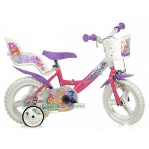 Dino Bikes Winx Club 12 pouces 20 cm Fille Frein à serrer Violet/Rose - Publicité