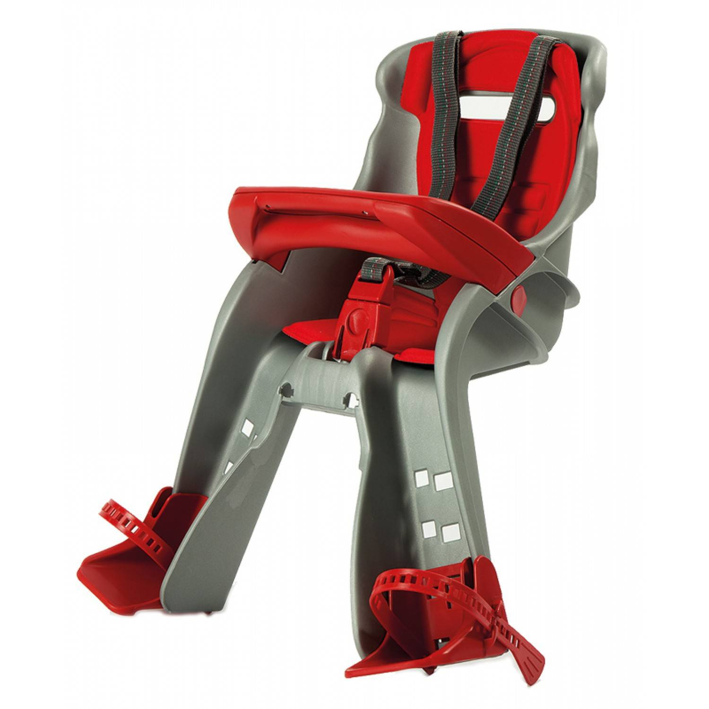 Okbaby Ok Baby Orion Siège Bébé Pour Vélo Gris/rouge 9-15 kg