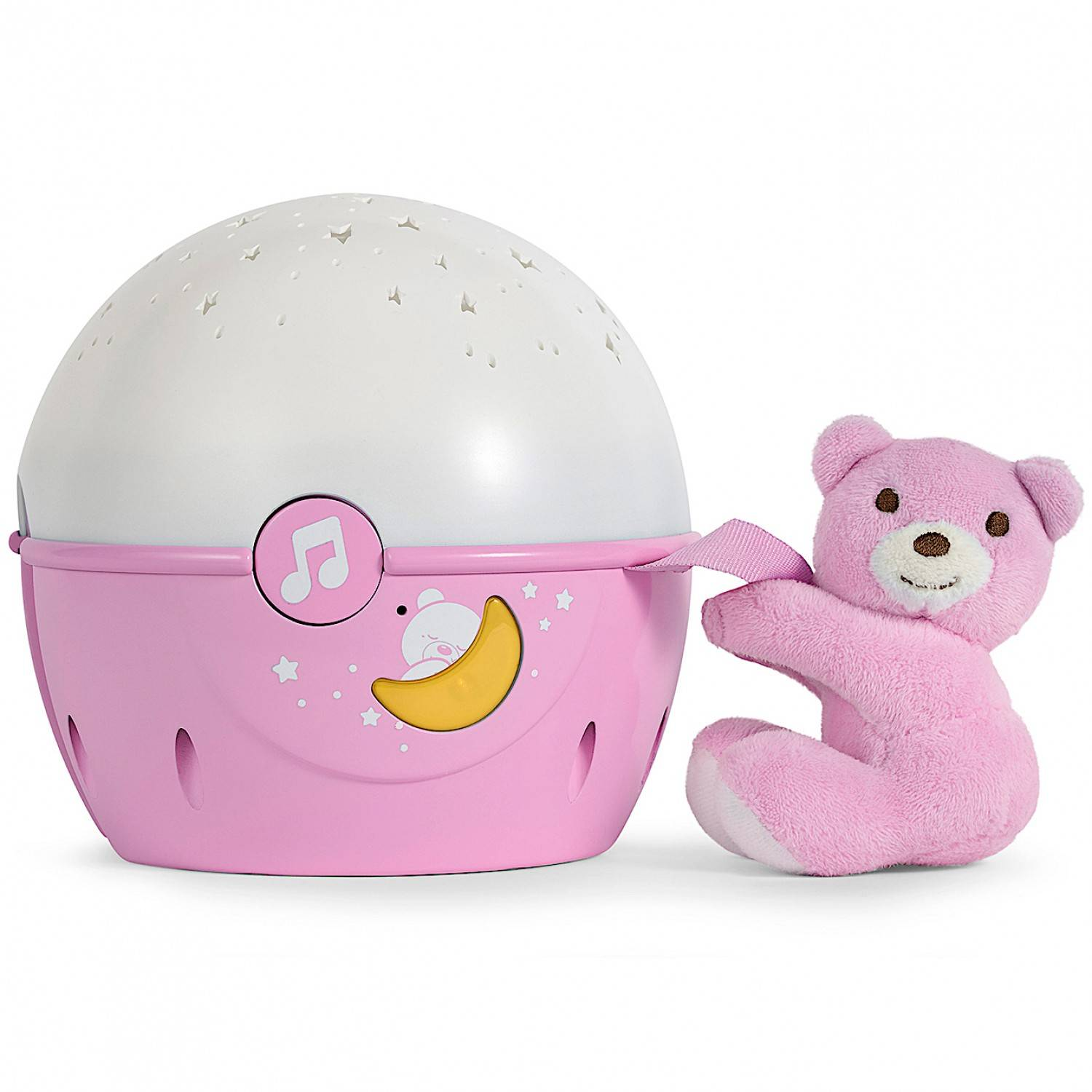 Chicco - 7647100000 - Projecteur Next2 Stars - First Dreams - Rose