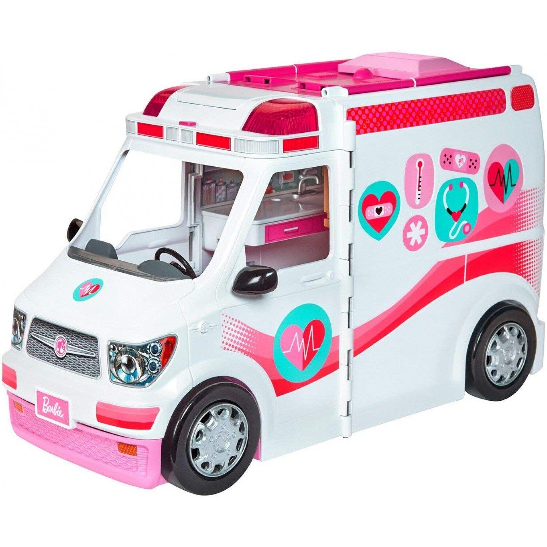 Barbie Je joue à l'ambulance de Barbie