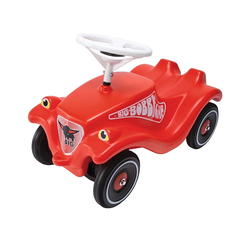 Simba Big Porteur Enfant Vehicule Enfant Big Bobby Car Classic Rouge