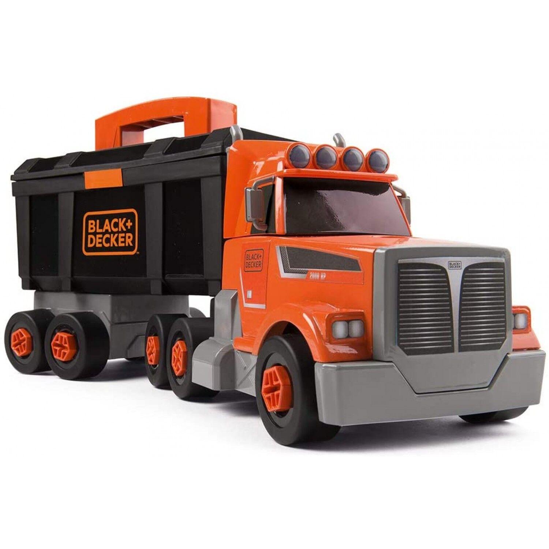Smoby Black + Decker Bricolo Truck avec boîte à outils