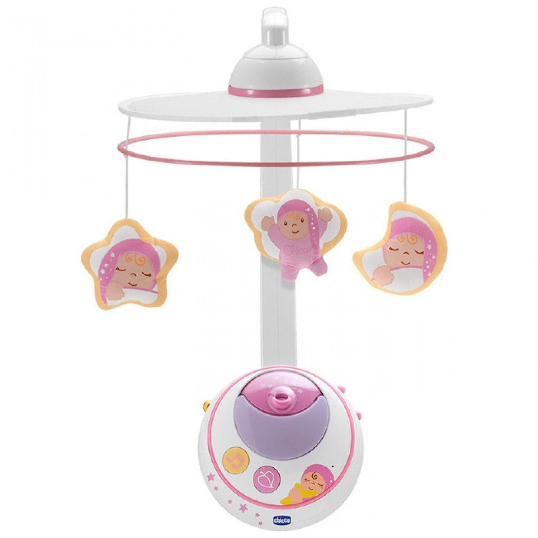 Chicco Jouet D'éveil Mobile Double Projection Frist Dreams Rose Collection 2014
