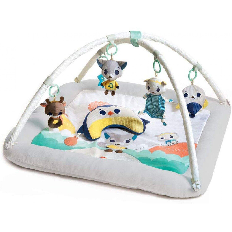 Tiny Love Tapis d'éveil Gymini avec arches ultra confort Polaire