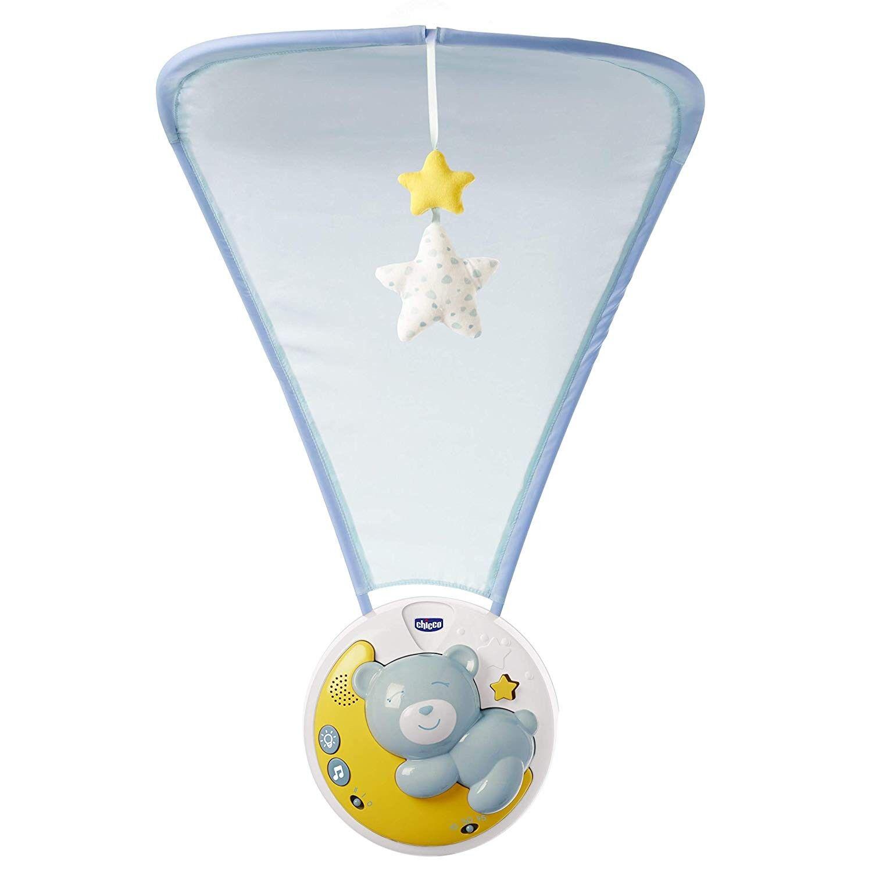 Chicco Next2moon Projecteur de berceau Bleu