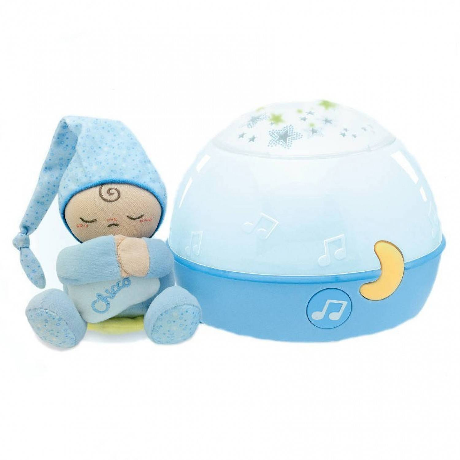Chicco Veilleuse Ma Lampe Magic'projection First Dreams Bleu