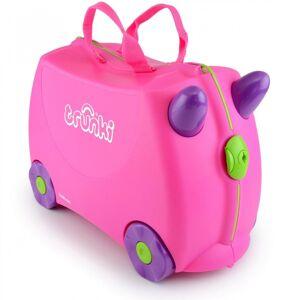 Trunki - 9220006 - Valise Pour Enfant - Ride-on - Trixie - Rose - Publicité