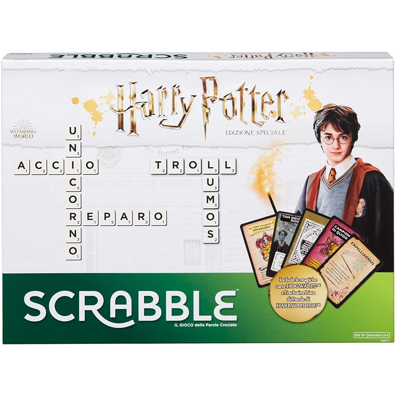 Mattel Jeu de société Mattel Harry Potter Scrabble