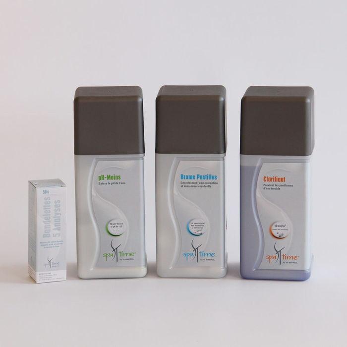 BAYROL Kit basique de produits d'entretien pour spa au Brome
