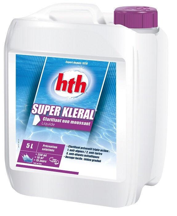 HTH Liquide anti-algues Super Kleral HTH 5L