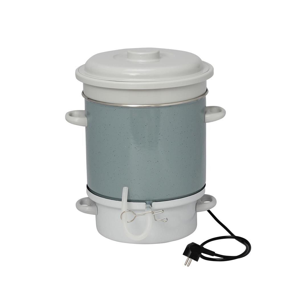 TomPress Extracteur de jus à vapeur émaillé électrique - TomPress