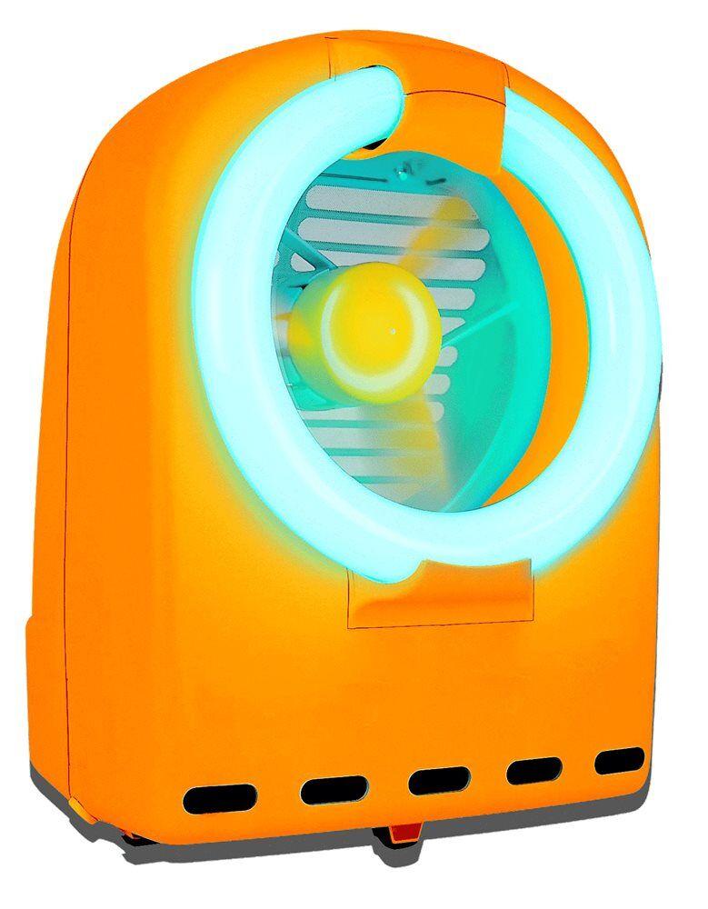 TomPress Piège anti-insectes à néon et ventilateur destructeur par dessèchement - TomPress
