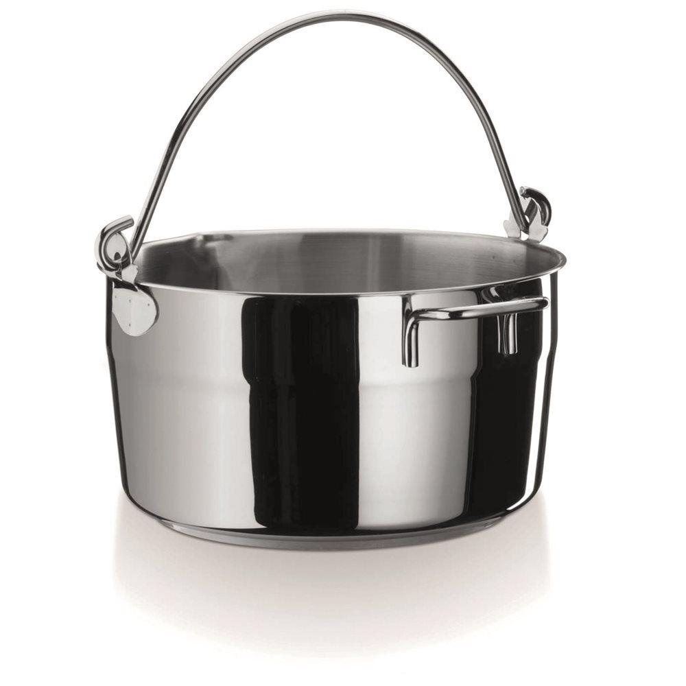 TomPress Bassine à confiture inox induction 10 litres 30 cm avec anse - TomPress