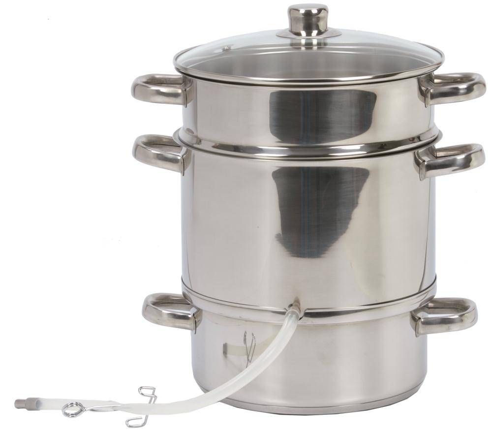 TomPress Extracteur de jus à vapeur inox 26 cm induction - TomPress