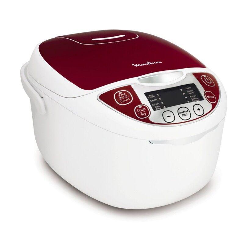Moulinex Multicuiseur 12 en 1 MK705111 Rouge