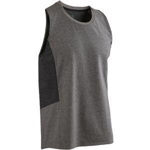 Nyamba Débardeur 560 Pilates Gym douce homme gris clair - Nyamba