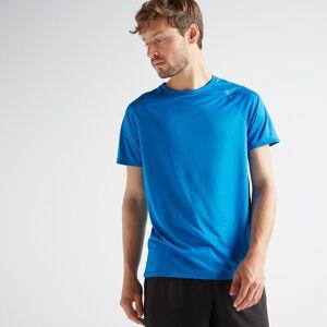 Domyos Tee-shirt cardio fitness training homme FTS 100 H bleu - Domyos