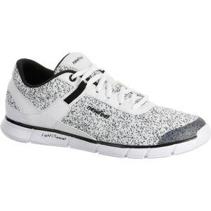 Newfeel Chaussures marche sportive femme Soft 540 blanc moucheté - Newfeel