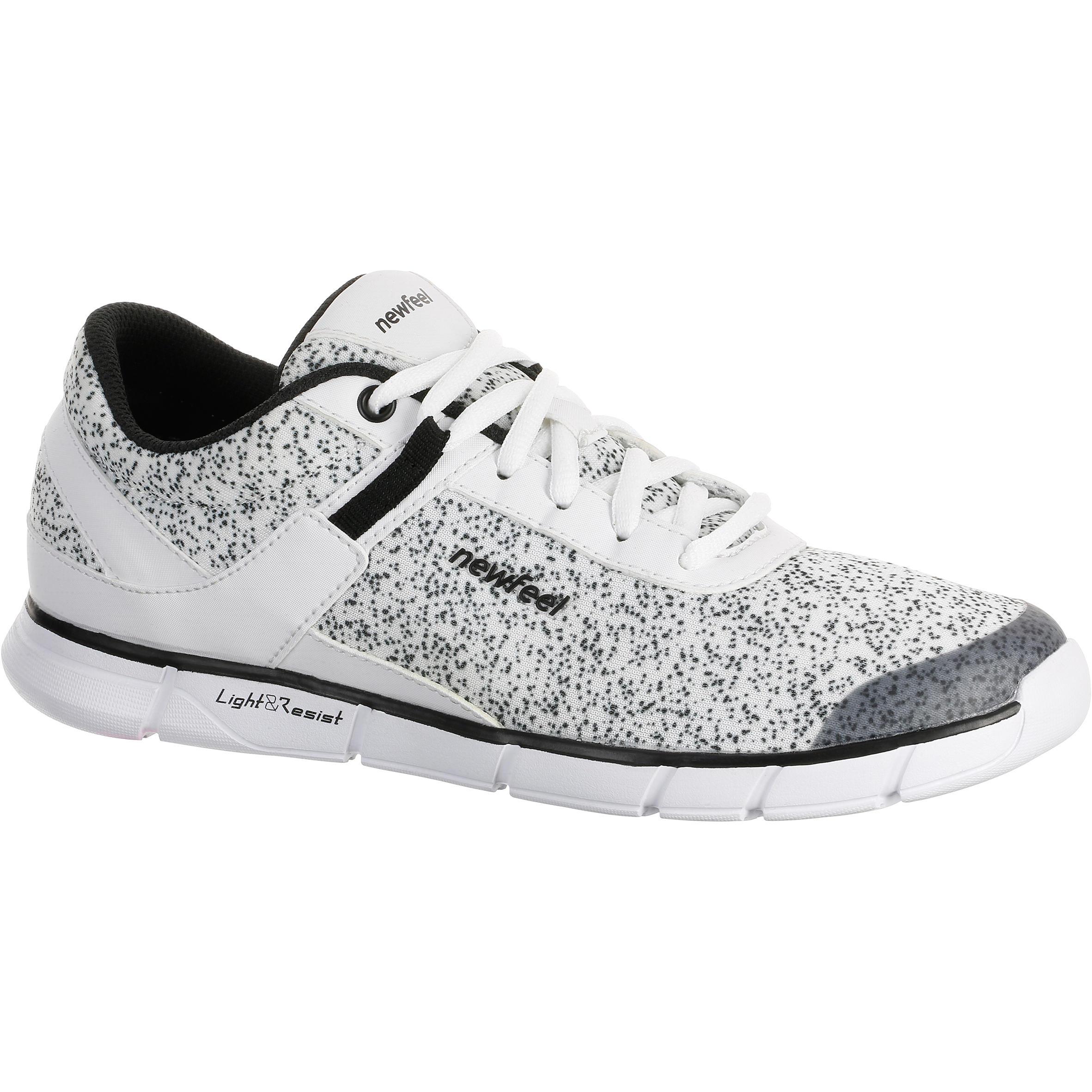 NEWFEEL Chaussures marche sportive femme Soft 540 blanc moucheté - NEWFEEL - 38