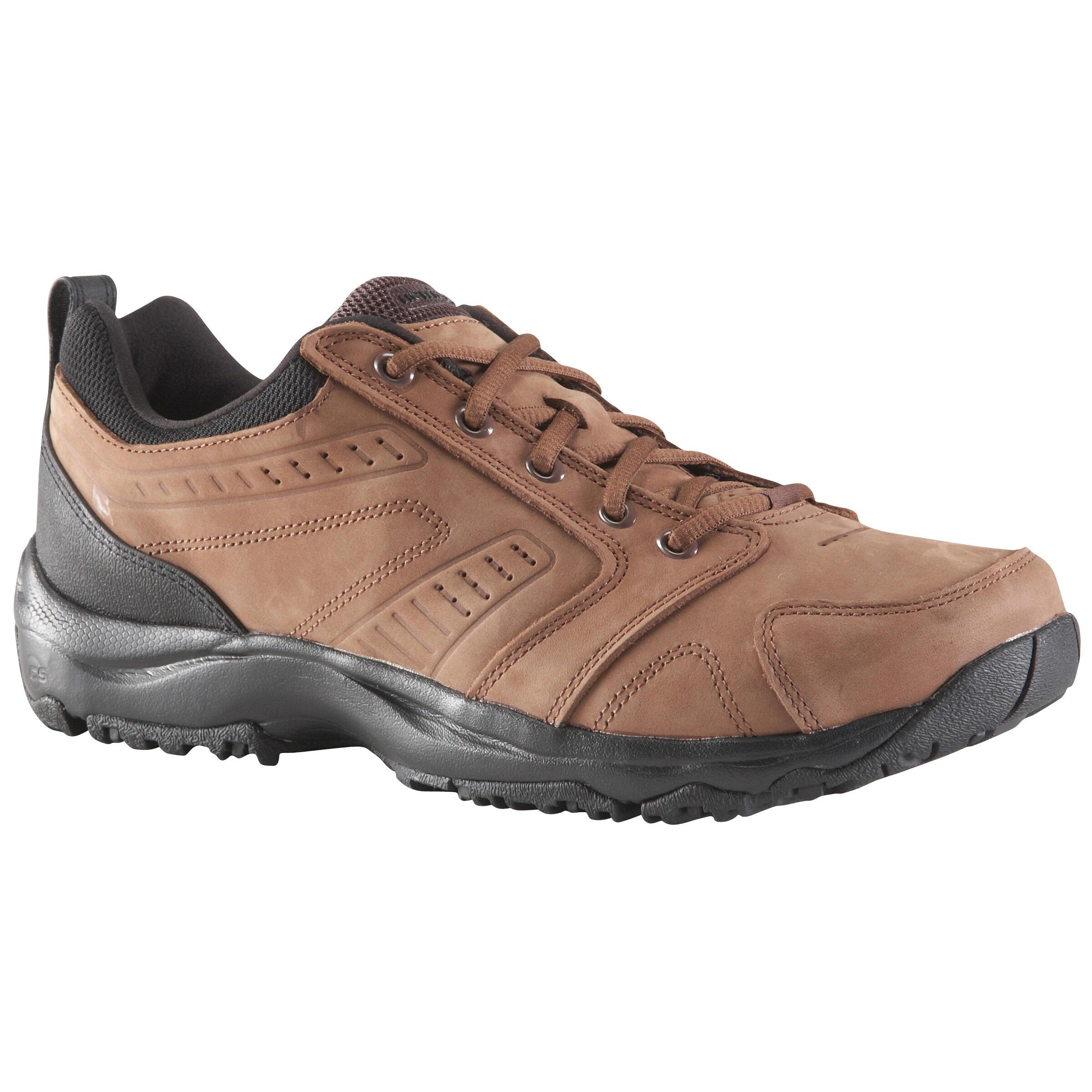 NEWFEEL Chaussures marche active homme Nakuru Confort cuir marron - NEWFEEL - 42