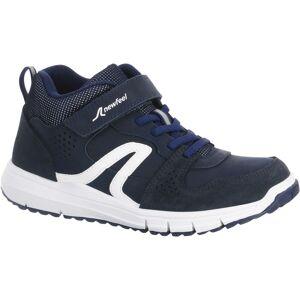 Newfeel Chaussures marche enfant Protect 560 cuir marine / blanc - Newfeel