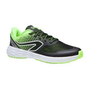 KALENJI chaussures enfant d' athlétisme AT 500 kiprun fast noires jaunes - KALENJI - 35 - Publicité