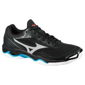 MIZUNO Chaussures de handball homme WAVE PHANTOM 2 noir/blanc - MIZUNO - 45 - Publicité