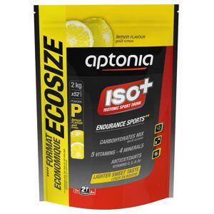 APTONIA Boisson isotonique poudre ISO+ citron 2kg - APTONIA - Taille unique - Publicité