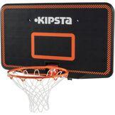 Tarmak Panier de basket SET B300 noir orange pour enfant et adulte à fixer au mur. - Tarmak