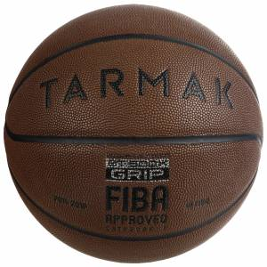 Tarmak Ballon de Basket Adulte BT500 Grip Taille 7 - Marron Excellent Toucher de Balle - Tarmak