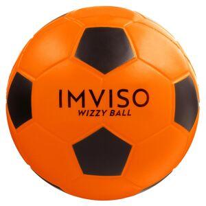 Imviso Ballon de Futsal mousse Wizzy taille 4 orange noir - Imviso